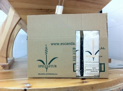 Harina INTEGRAL de Escanda o Espelta caja 12 Kg (Triticum aestivum sub. Spelta)